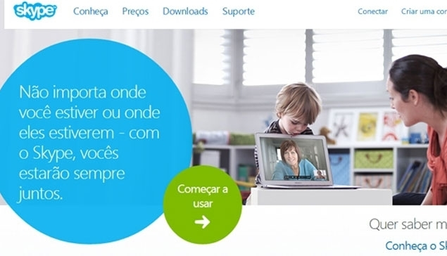 Skype sem fronteira