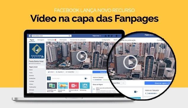 Fiesta Hotel sai na frente como primeiro hotel do Brasil a usar o recurso de videos do Facebook