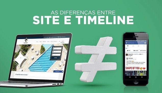 Site, Fan Page e Timeline, entenda e transforme o uso em resultados positivos