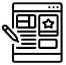 Montagem dos conteúdos do site